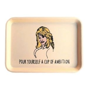 Pour Yourself A Cup Of...Dolly Parton Trinket Tray
